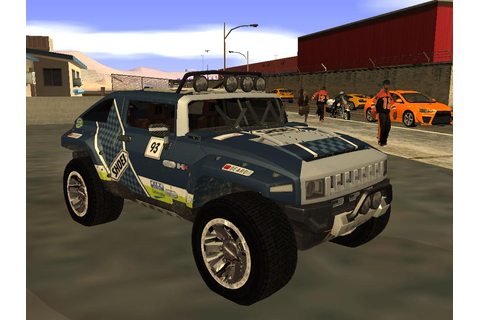 emonterogta: Hummer HX from Dirt2 first pics in game