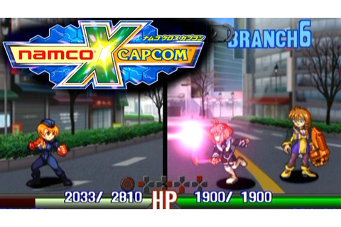 Namco X Capcom (English Patched) ... (PS2) - YouTube