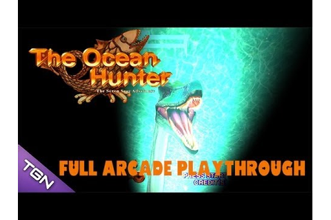 The Ocean Hunter Arcade Game - Full Playthrough (Sega ...