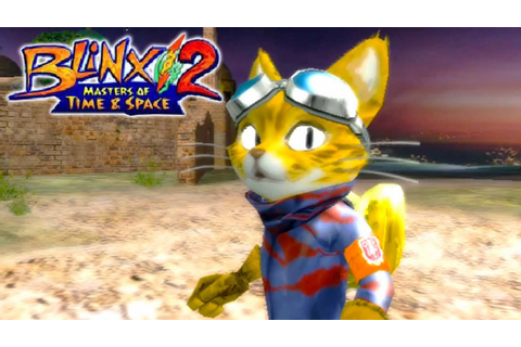 Blinx 2: Masters of Time and Space - Gameplay Xbox ...