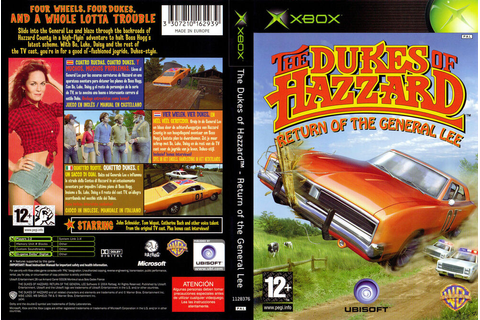 The Dukes of Hazzard Return of the General Lee Xbox GAME ...
