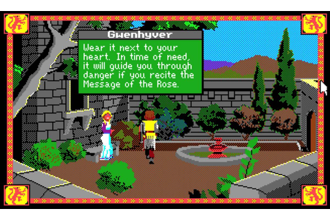 Amiga - Conquests of Camelot: The Search for the Grail ...