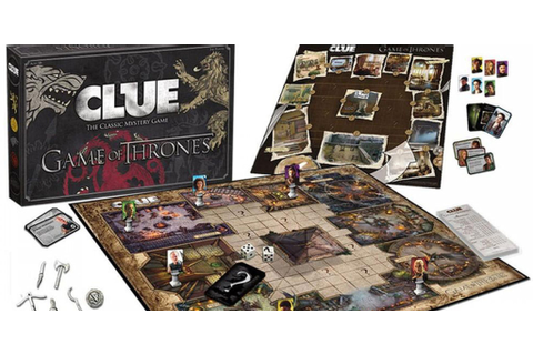 'Game of Thrones' Clue is a board game full of fun and ...