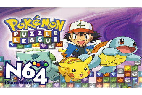 Pokemon Puzzle League - Nintendo 64 Review - HD - YouTube