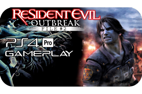 Resident Evil Outbreak: File 2 PS4 Gameplay No Commentary ...