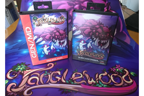 Tanglewood - new game out now for Sega Mega Drive and PC ...