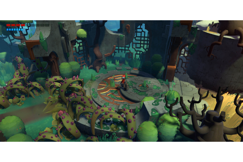 Hob Gameplay Preview: Runic's Sundered World | PAX ...