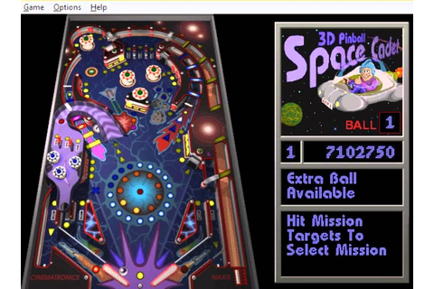 3D Pinball Space Cadet - High Score - YouTube