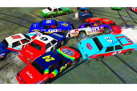 NASCAR LEGENDS DEMOLITION DERBY! - Next Car Game Wreckfest ...