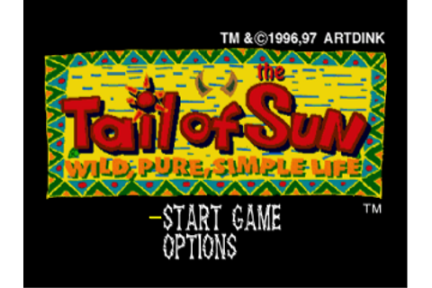 Play Tail of the Sun Sony PlayStation online | Play retro ...