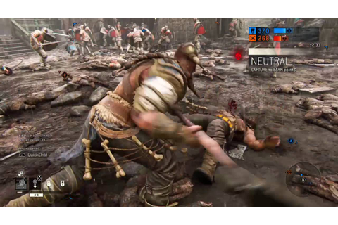 For Honor - Viking Raider Gameplay [Closed Alpha] PS4 ...