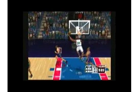 ESPN NBA 2Night Dreamcast Gameplay_2000_11_16_1 - YouTube