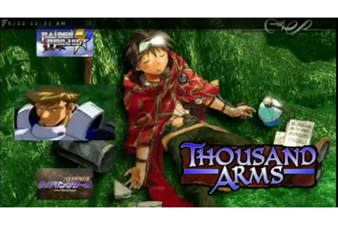 Thousand Arms Custom Eboot - YouTube