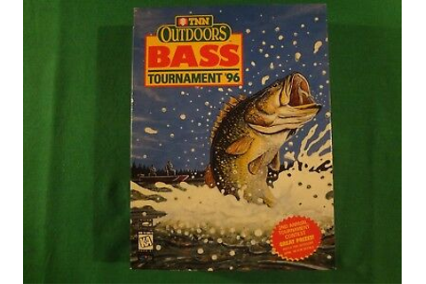 TNN OUTDOORS BASS TOURNAMENT '96 PC GAME | eBay