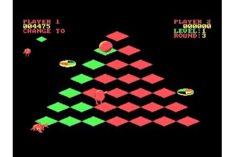 Q-bert - PC Game 1984 - YouTube
