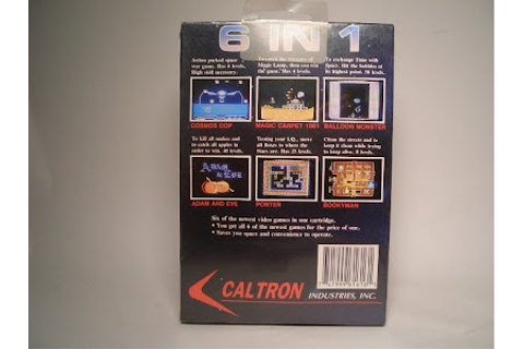 Retro Treasures: Caltron 6 in 1 (NES)
