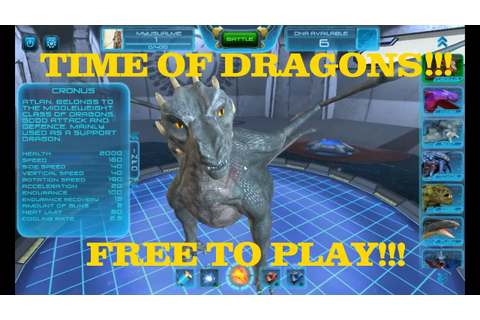TIME OF DRAGONS!!!- FREE GAME ON STEAM!!!- FIRST LOOK ...