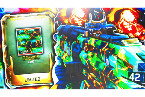 "*NEW* SECRET ""COSMIC CAMO"" DOUBLE NUCLEAR GAMEPLAY ..."