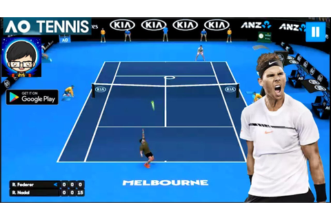 AO Tennis Game Gameplay Full HD (Android /IOS) by Tennis ...