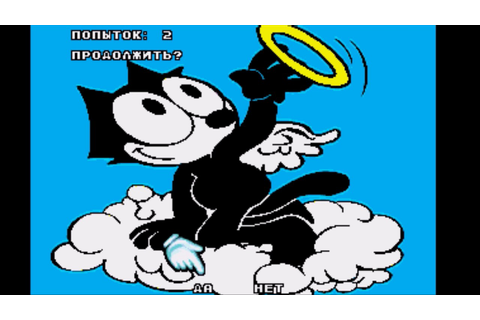 Felix The Cat (Sega Genesis Bootleg) Continue and Game ...