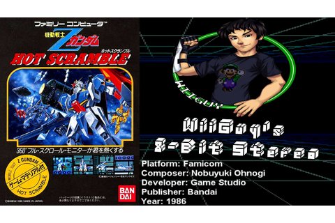 Kidou Senshi Z Gundam: Hot Scramble (FC) Soundtrack ...