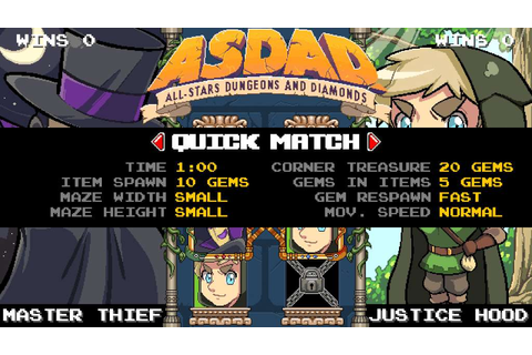 ASDAD: All-Stars Dungeons and Diamonds Steam CD Key | Buy ...
