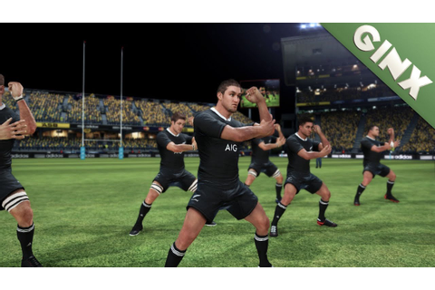 Jonah Lomu Rugby Challenge | Review | Ginx - YouTube