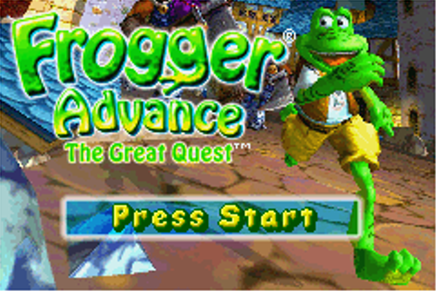 Frogger Advance - The Great Quest (E)(LightForce) ROM