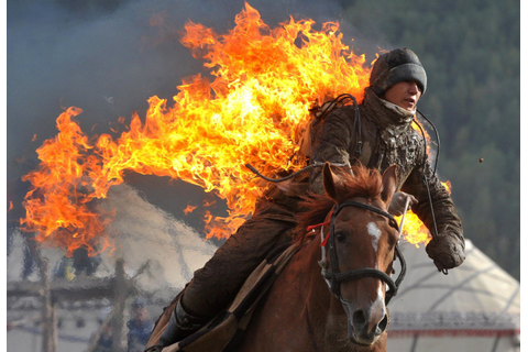 Heating Up: Kyrgyzstan Kicks Off World Nomad Games - NBC News