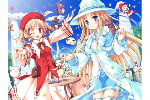 Anime wallpaper shukufuku no campanella blue eyes blonde ...