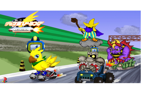 Playstation Anniversary Tribute: Chocobo Racing