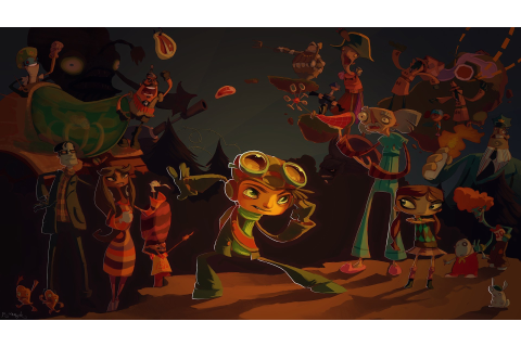 psychonauts, Video Games Wallpapers HD / Desktop and ...