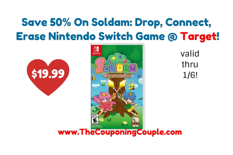 Save 50% On Soldam: Drop, Connect, Erase Nintendo Switch ...