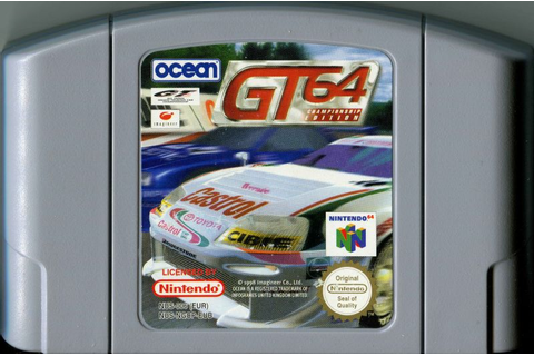 GT 64: Championship Edition (1998) Nintendo 64 box cover ...