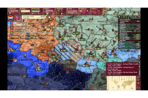Victoria 2 MP : The first great war (Ranked game #1) part ...