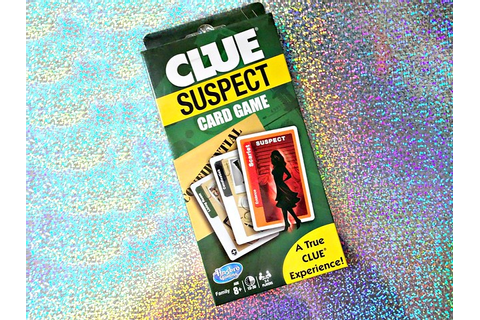 Clue Suspect Card Game ~ Family Game Series #10 - My Silly ...