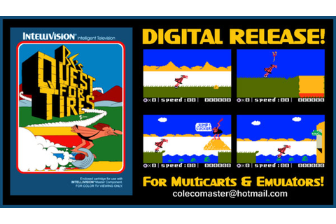 La ROM de B.C.'s Quest for Tires sur Intellivision bientôt ...