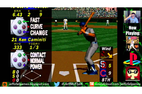 MLB Pennant Race (PS1) - YouTube