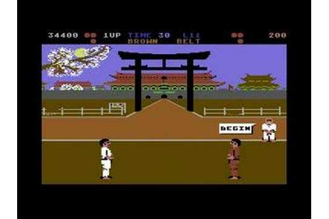 International Karate – C64 – Video games