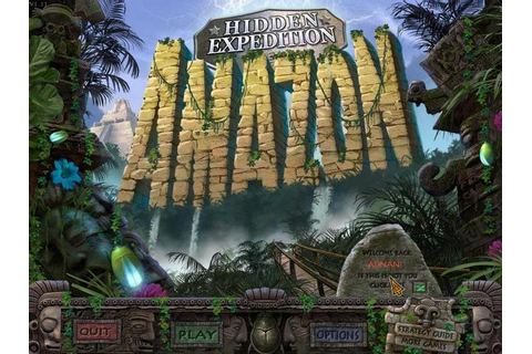 Welcome To My Blog: Hidden Expedition: Amazon