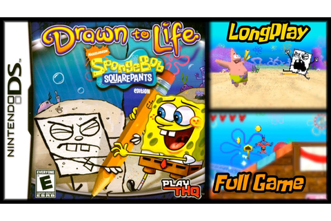 Drawn to Life: SpongeBob SquarePants Edition - Longplay ...