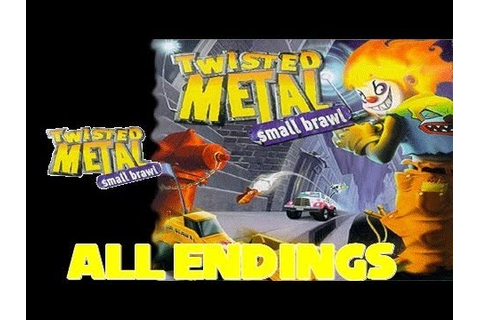 Twisted Metal Small Brawl All Endings + Axel Censored End ...