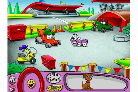 Putt-Putt Enters the Race Download (1998 Educational Game)