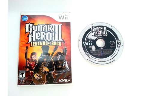 Guitar Hero III: Legends of Rock game for Wii | The Game Guy