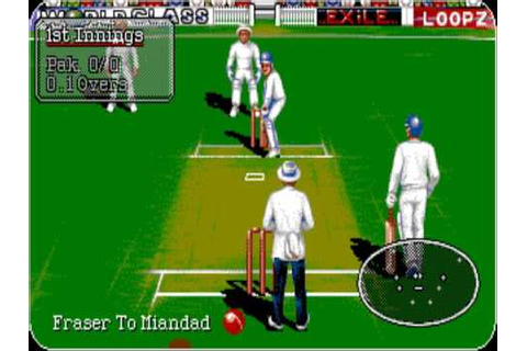 AMIGA - Commodore Amiga - Graham Gooch World Class Cricket ...