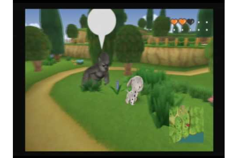 The Dog Island (PS2, Wii) random gameplay - walking around ...