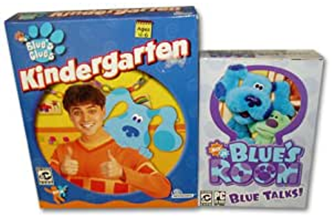 Amazon.com: Blue's Clues Kindergarten and Blue's Room Blue ...