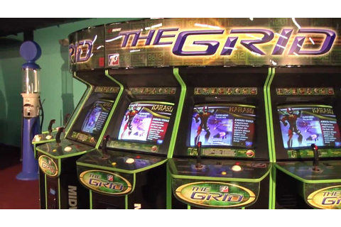 The Grid - Video Arcade Fighting - PrimeTime Amusements ...