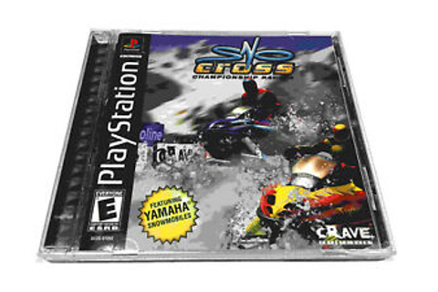 ️ Sno-Cross Championship Racing PS1, PlayStation 1, PSX ...