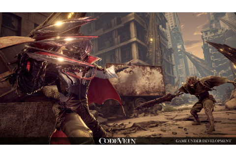 Namco Bandai's Code Vein is an epic vampiric action-RPG